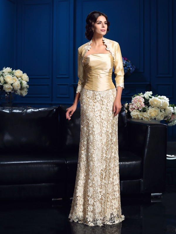 Lace 3/4 Sleeves Taffeta Special Occasion Wrap